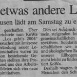 Artikel von 2004