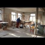 Türrahmenbau in der Holzwerkstatt