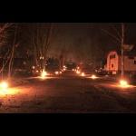 Kerzenzauber am Betonweg