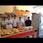 ... mit unseren syrischen Köchen