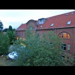 Blick aufs Sommerhaus