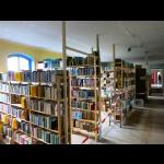 Die frisch umgezogene Bibliothek