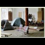 Innenraum-Camping