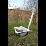 Garten-Badewanne