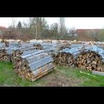 Wir heizen mit Holz